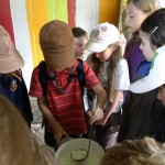 Visite scolaires fabrication de fromages de chèvre