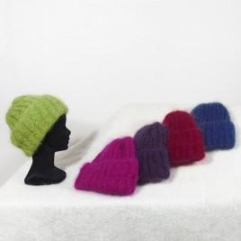 Bonnets tricotés main
