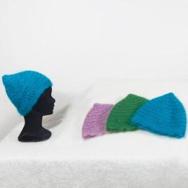 Bonnets lutin crochetés main